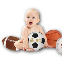Geboorte knuffel sport