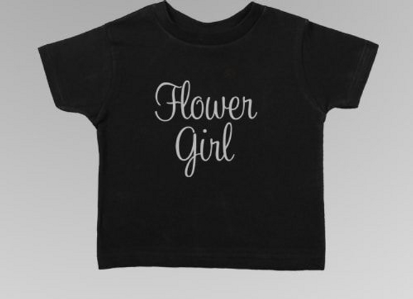 Flower Girl Toddler Tee