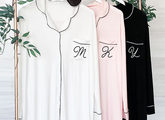 Monogram Sleep Shirt