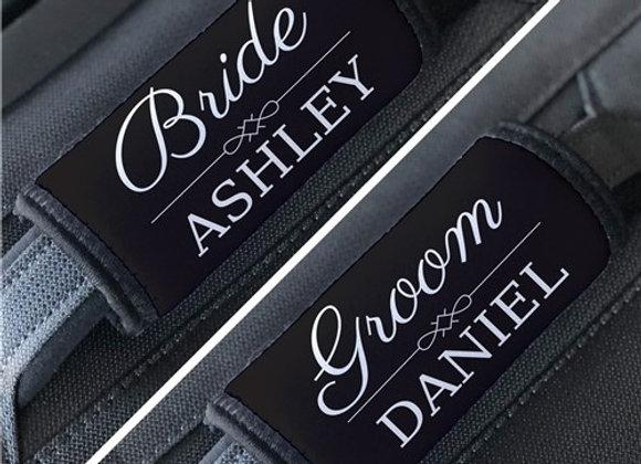 Personalized Wedding Luggage Grip