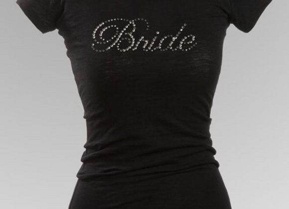 Bride Rhinestone T-Shirt