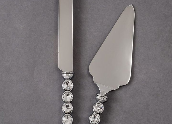 Faceted Stone Server Set