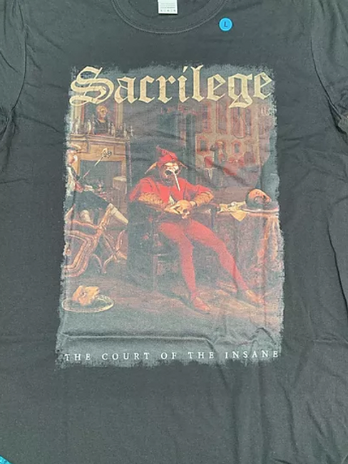 NEW Sacrilege T-Shirt The Court Of The Insane