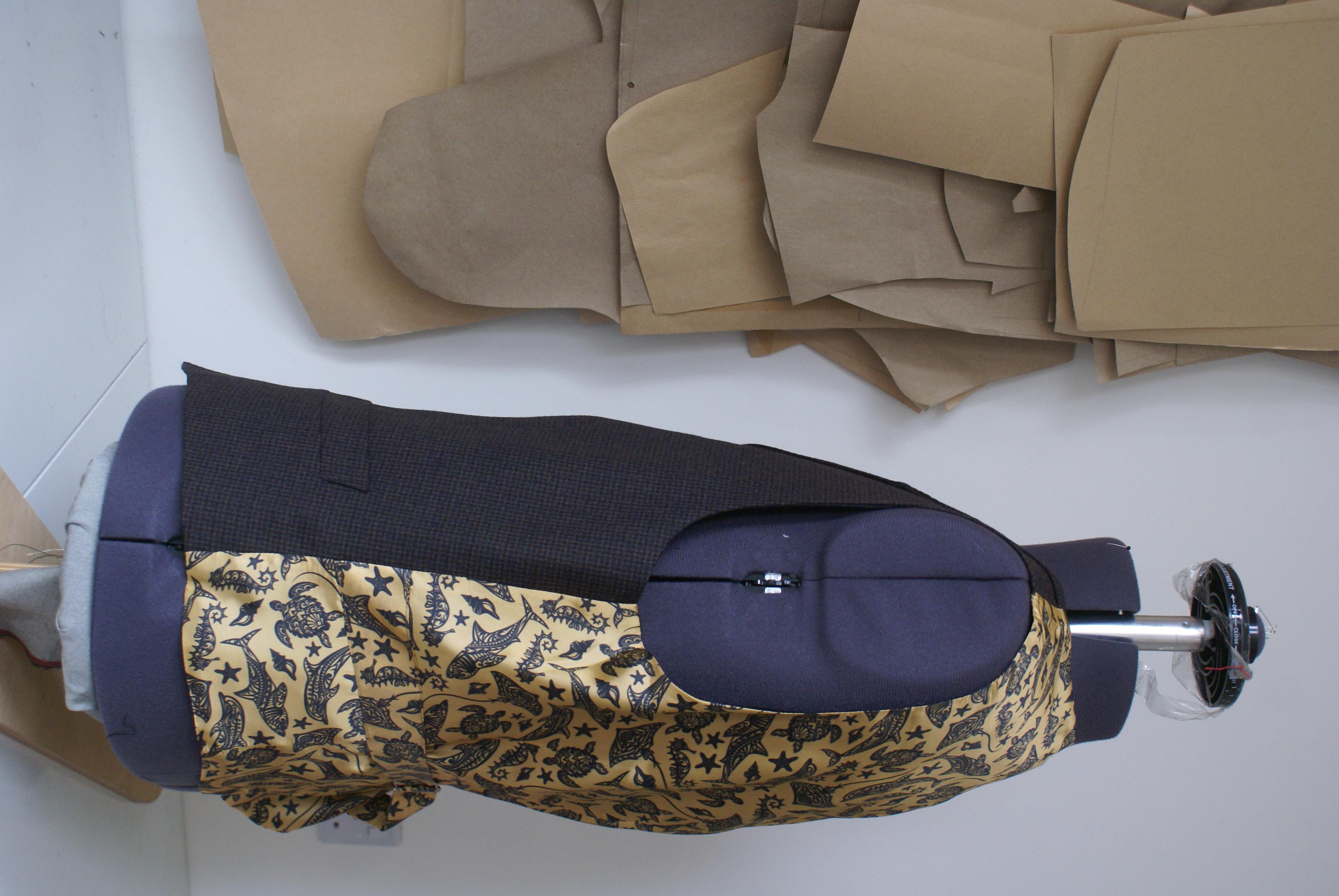 Kipper & Chalk Waistcoat