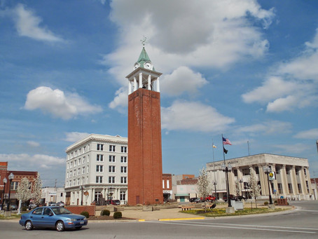 Traveling to the Hub of the Universe - Marion, IL!
