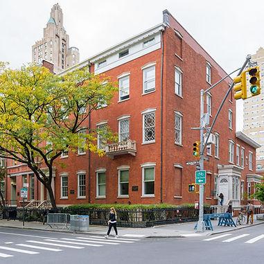 Silver School of Social Work building on NYU's campus