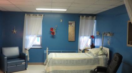 Chambre en soins palliatifs