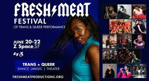 June 20-22 Fresh Meat Festival  Z Space   San Fransisco 8pm Show  - Trevor Miles Dance