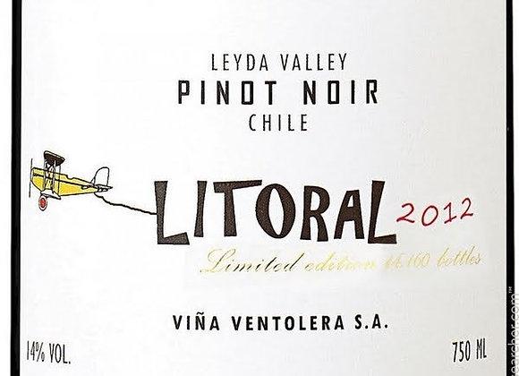 PINOT NOIR, ' Litoral' Ventolera, LEYDA VALLEY , Chile 2015