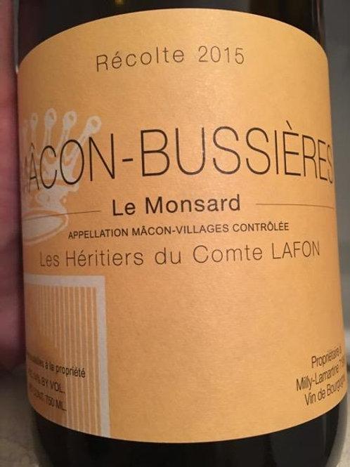 Mâcon Bussières, Les Héritiers Du Comtes Lafon, 2019 France, Burgundy