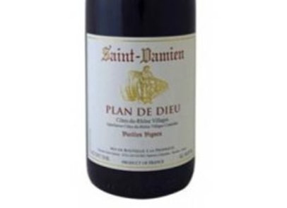 Cotes du rhone, plan de dieu, St Damien 2018