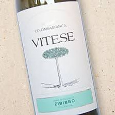 Zibibbo 'Vitese,' Sicily, Colomba Bianca 2018 Italy