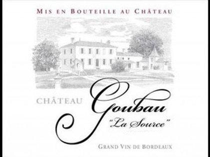 Château Goubau, La Source, 2016 France, Bordeaux