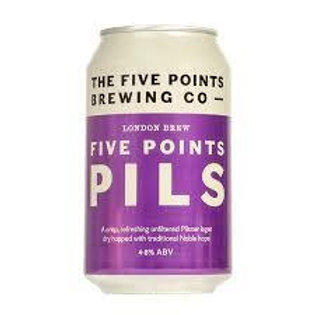 Five Points Pilsner Can 330Ml
