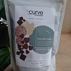 Curve Coffee . Decaf -250g ground - Primavera Family Guatemala