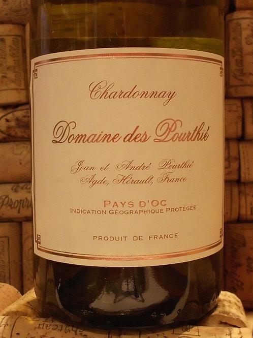 Chardonnay, Pays D'Oc, Domaine Des Pourthi 2018 France
