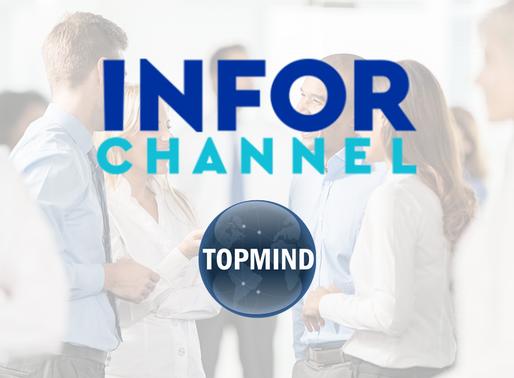 """TOPMIND é destaque no Infor Channel com artigo ''Topmind comemora três anos do TOP+PRÓXIMO"""""""