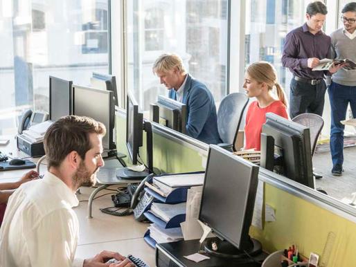 Gestão inteligente de espaços e ganho de produtividade
