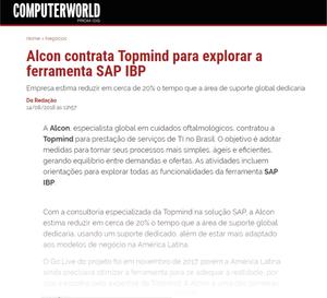 Alcon contrata TOPMIND para explorar a ferramenta SAP IBP