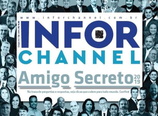 Sandra Maura, CEO da TOPMIND, participa do Amigo Secreto da Info Channel