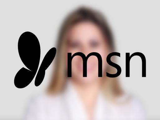Sandra Maura, CEO da TOPMIND, em destaque no MSN