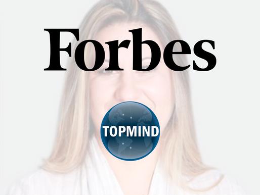 Sandra Maura, CEO TOPMIND, em destaque na Forbes