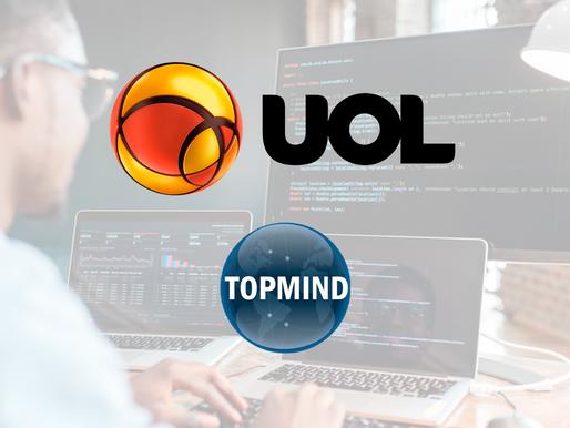 TOPMIND, em destaque na Uol: Topmind abre 60 novas vagas