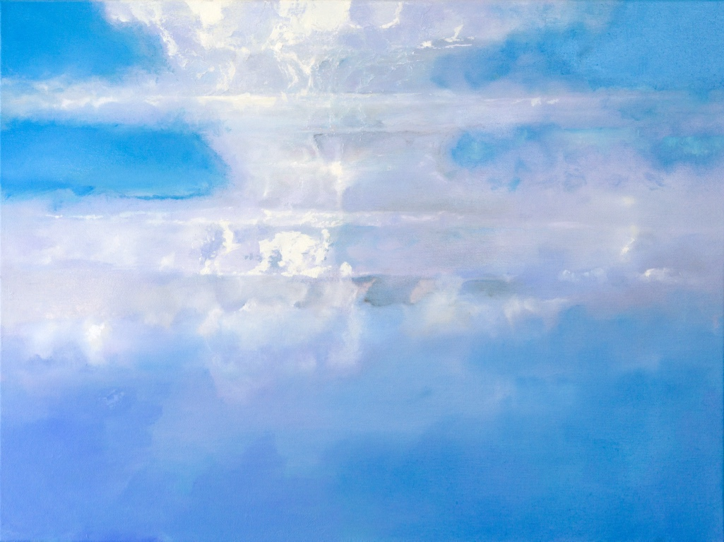 Blue Cloud Painting