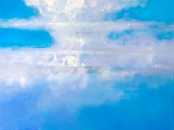 Blue Cloud Painting