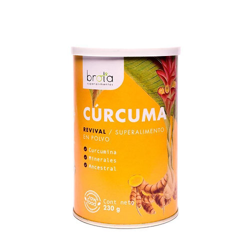 CURCUMA EN POLVO 230 GR