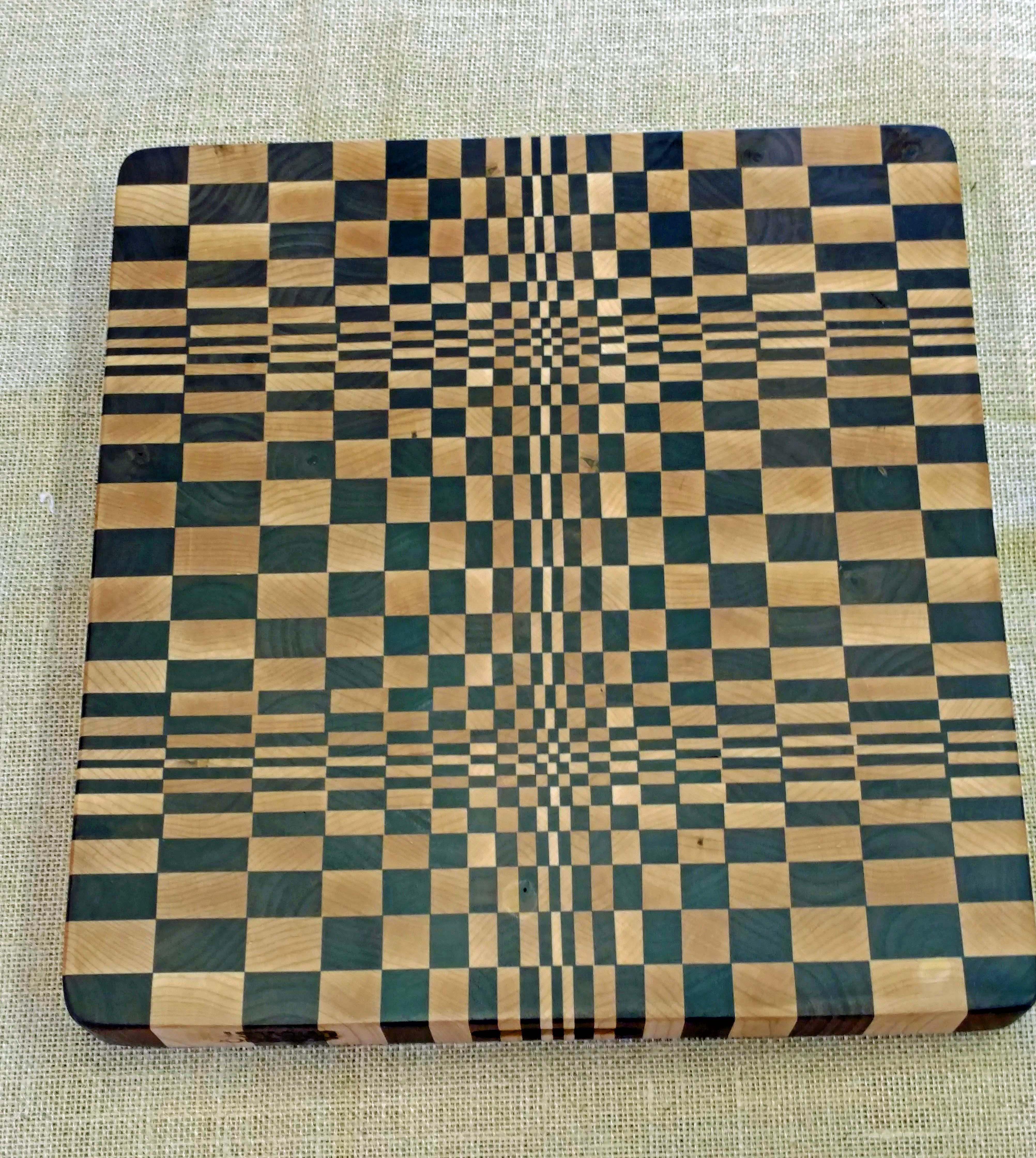 3D Cutting Board | End Grain