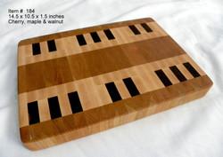 Cutting Board Piano Keyboard Layout