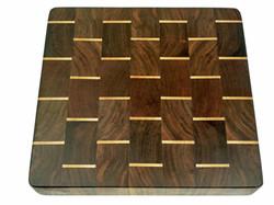 Cutting Board   Walnut w/ Maple