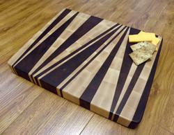 End Grain Cutting Board Diagonal