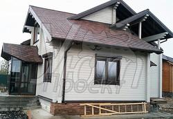 Дом в серых тонах