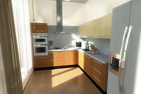 проекты домов - дизайн кухни