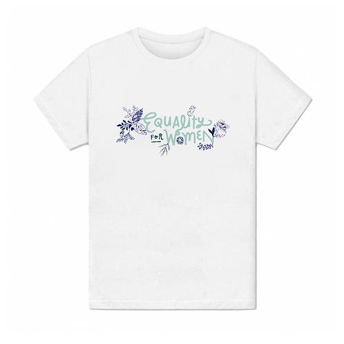 Tee shirt Equality for women