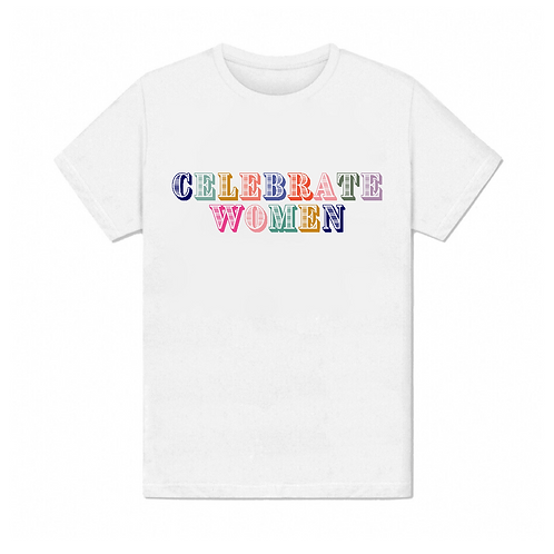 Tee shirt celebrate women
