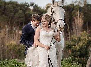 Tasmanian beach wedding venue