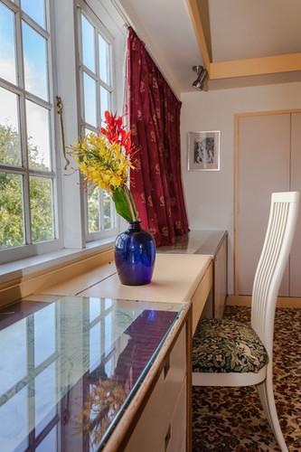 Private Balcony sea view room Hawley House.