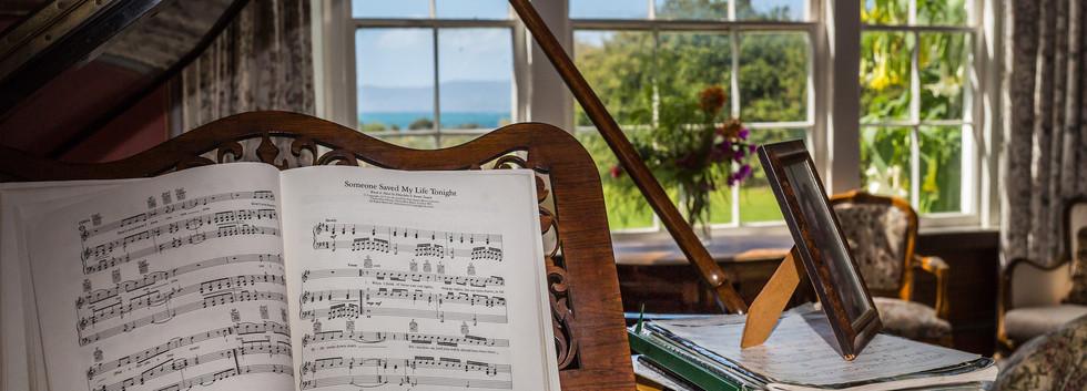 Piano at Hawley