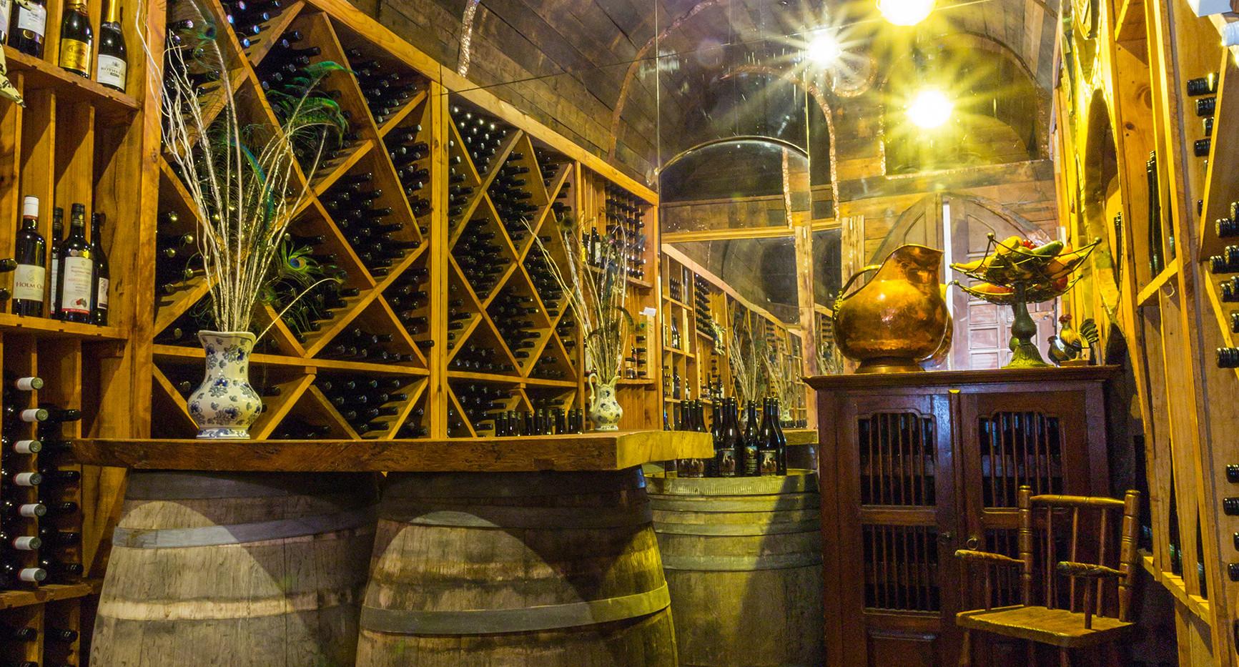 Wine Cellar at Hawley