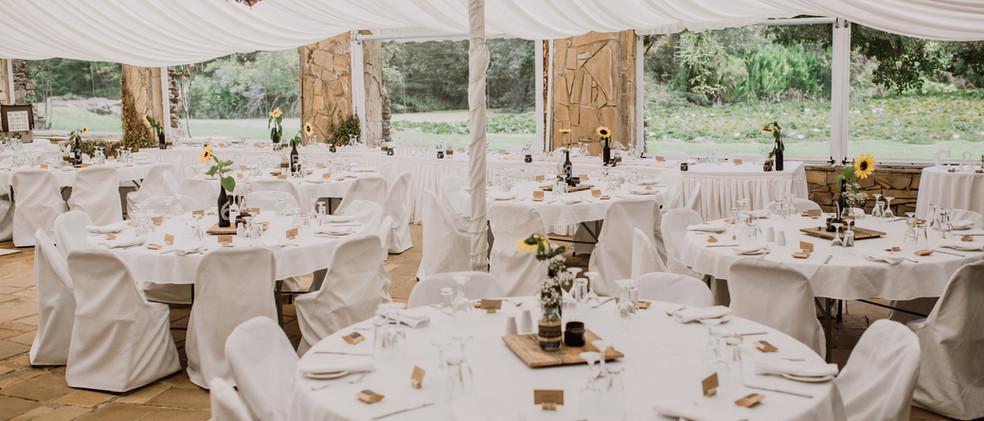 Marquee weddings tasmania