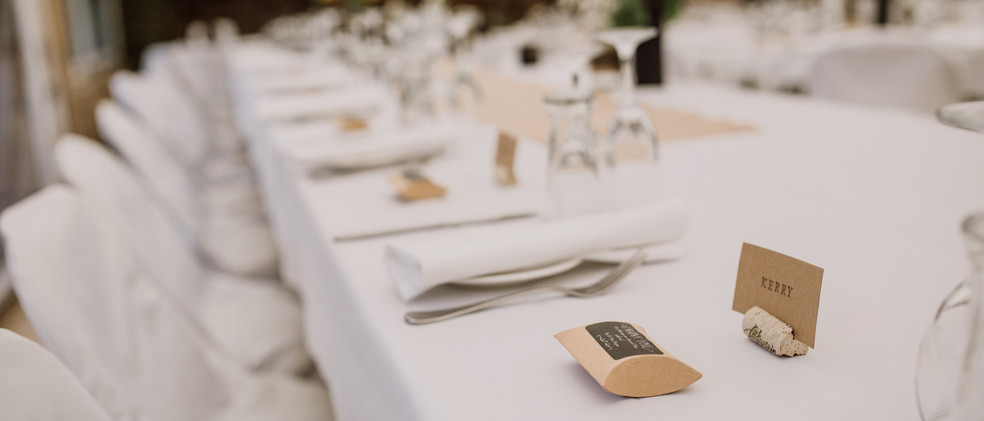 Marquee wedding tasmania