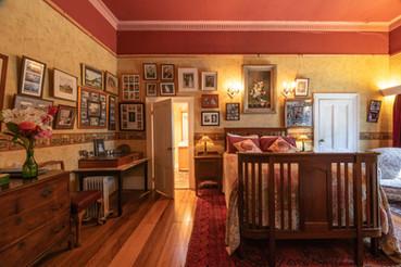 Hawley House history room Tasmania.