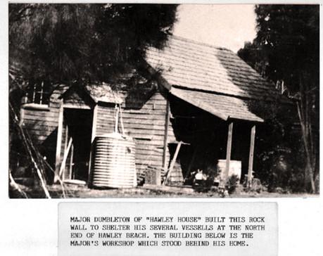Original Hawley outbuilding
