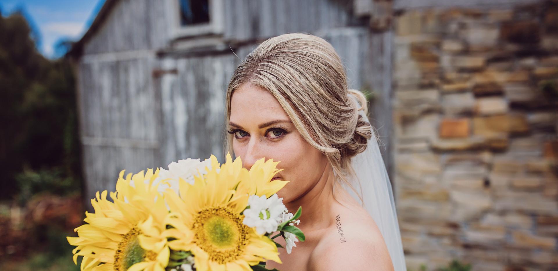 Bride at Hawley
