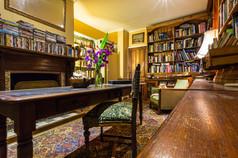 Historical Library at Hawley House