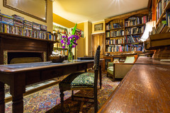 Historical Library at Hawley House