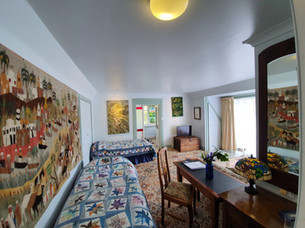 Hawley House family room accommodation.
